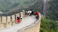 The Great Wall of China, in June