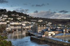 A calm day at Looe between storms