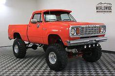 1977 Dodge Power Wagon 440 V8 MOPAR HUGGER ORANGE SHORT BED Dodge Trucks Lifted, Ram Trucks, Dodge Cummins, Classic Pickup Trucks, Dodge Power Wagon, Vintage Trucks, Custom Trucks, Cool Trucks, Mopar