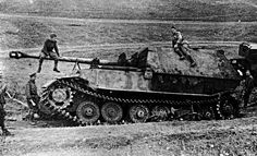 this unique photo. It captures one of the 39 Ferdinand lost by the Germans at Kursk. It Ferdinand number 112. According to the Germans, this car was blown up by mines one of the first. Although in the books about the war constantly meet swingers photos wrecked, in fact it was built only 90 cars. So everyone lined Ferdinand was a great achievement.