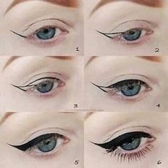 How to get the perfect cat eye.