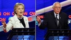 Sparks fly between Clinton and Sanders over minimum wage