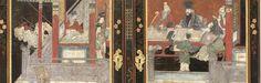 Rare exhibit of Coromandel Lacquer furniture in Petit Palais museum in Paris from the Bibliothèque Nationale de France Lacquer Furniture, Exhibit, Museum, France, Paris, Painting, Decor, Montmartre Paris, Decoration