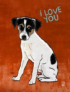 rat terrier oil paintings - Google Search