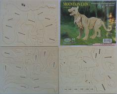 3D Puzzle Woodcraft Construction Kit
