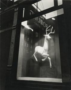 Bleecker Street, 1947    found on thevintaquarian.co, Just love this one single object and how it evokes Christmas so well.