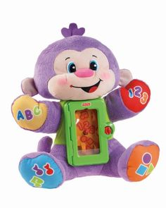 Fisher-Price Laugh and Learn Apptivity Monkey Multi-Colored, Multi