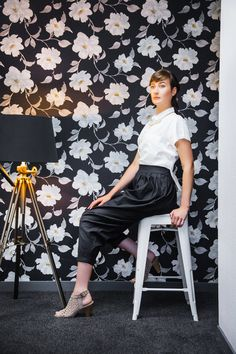 Tonic & Cloth Gadsby Pants Cropped Organic Cotton Shirt Made in a production house which empowers women Polish Clothing, Together Lets, Linen Trousers, Feel Like, Women Empowerment, Sustainable Fashion, Looks Great, Organic Cotton, Product Launch