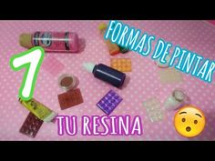 7 maneras de pintar la resina 🎨🌟 / Tips Fáciles | PKL 🐼 - YouTube B Plan, Lets Do It, Resin Art, Decoupage, Arts And Crafts, Make It Yourself, Blog, Gifts, Diy