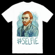 Whether you're an art history nerd, an art student, or someone who enjoys history jokes, this funny Van Gogh