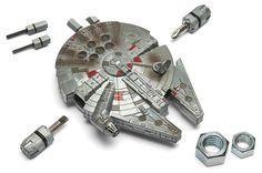 Star Wars Millennium Falcon Multi-Tool Kit - Exclusive by ThinkGeek