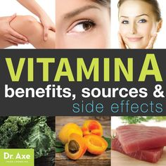 Vitamin A Health Benefits and Side Effects Title