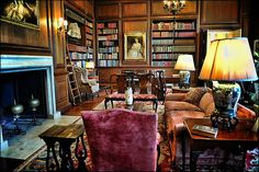 Filoli Mansion Library
