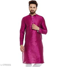 Checkout this latest Kurtas Product Name: *Ethnic Silk Solid Kurta* Sizes:  S, M, L, XL, XXL Easy Returns Available In Case Of Any Issue   Catalog Rating: ★4 (304)  Catalog Name: Mens Ethnic Silk Solid Kurtas Vol 2 CatalogID_233450 C66-SC1200 Code: 177-1778569-6921
