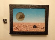 "Contains a genuine fragment of stony meteorite recovered from the Saharan Desert of Morocco.  Asking price is $19.  Use coupon code ""pinterest"" at checkout for 20% off. :)"