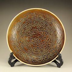 Chinese Song Dynasty Ding Kiln Porcelain Plate 中國宋代 定窯瓷器盤子