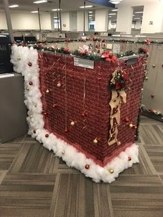 Office Desk Christmas Decorations