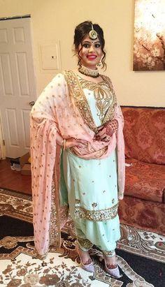 you like this suit! get this suit made at nivetas design studio whatsapp… Patiala Salwar, Punjabi Salwar Suits, Designer Punjabi Suits, Punjabi Dress, Pakistani Suits, Indian Suits, Indian Attire, Indian Designer Wear, Indian Dresses