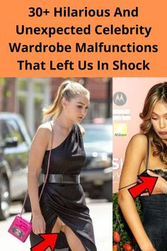 Although we think of celebrities as graceful and poised, their high fashion outfits sometimes turn against them at the most embarrassing moments. Unlike our wardrobe malfunctions, these outfit disasters were caught live on camera, and they have been living in our minds rent-free. From classic nip slips to dresses falling apart on stage, these are the most embarrassing wardrobe malfunctions that you won't be able to stop laughing at.
