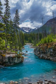 'Marble Canyon' by Alan Stanley - (Marble Canyon in Kootenay National Park along Highway 93 in B. Landscape Photos, Landscape Photography, Nature Photography, Beautiful Places To Travel, Beautiful World, Marble Canyon, Nature Scenes, Nature Pictures, Belle Photo