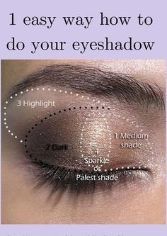 Eyeshadow Looks Youniquely Beautiful - Makeup tips and more Quick and easy look that anyone can do. Makeup tips and tricks anyone can try. Eyeshadow tips on application for day or night makeup looks. Eye Makeup Steps, Smokey Eye Makeup, Eyebrow Makeup, Beauty Make-up, Beauty Hacks, Natural Beauty, Beauty Care, Eye Shadow Application, Eyeshadow Tips