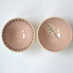 2 Schaaltjes in zacht roze van Kleur in de Kamer op DaWanda.com