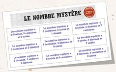Le nombre mystère Cycle 3, Home Activities, Riddles, Teaching, Education, School, Blog, Charades, Aide