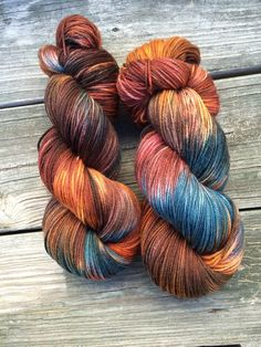 Hand Dyed Sock Yarn Hand Dyed Yarn Fingering by WendysWonders127