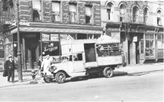 Auto Carousel, Lower East Side at Cherry and Rutgers Streets, March 30, 1934. PL Speer.