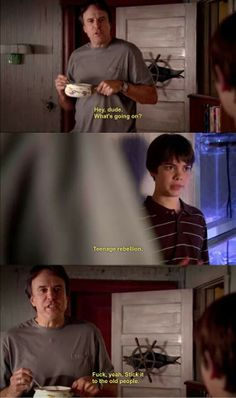 Kevin Nealon in Weeds is one of my most favorite characters in anything of all time.  His humor is BEYOND.