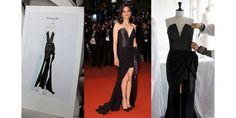 Cannes 2016: 4 design stages for Marion Cotillard's little black Dior dress http://ift.tt/1W6FHQd #VogueParis #Fashion