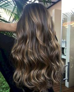 26 Beautiful Brunette Balayage Hair Color Ideas