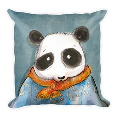 Excited to share the latest addition to my #etsy shop: Panda Pillow Bear Pillow Panda Bear Cute Pillow Baby Pillow Kids Pillow Home Decor http://etsy.me/2nruYTy #housewares #pillow #pandapillow #pandabearart #pandabear #bear #panda #kidsroom #homedecor