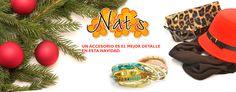 NATS accesorios  El Paseo: Local 25 tel. 1075355 Centro: Reforma sur 201 plaza Gómez Olivier. tel. 3847771
