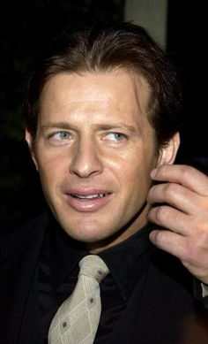Actor Costas Mandylor attends the Hallmark Channel's 'A Taste of Hollywood' reception on January 7 2004 in Beverly Hills California The event. Beautiful Lips, Beautiful Men, Saw Traps, Jigsaw Saw, January 7, Hallmark Channel, Horror Films, Scary Movies, Celebs