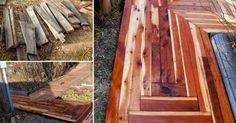Cómo+hacer+caminos+de+madera+reciclada+para+el+patio+o+jardín
