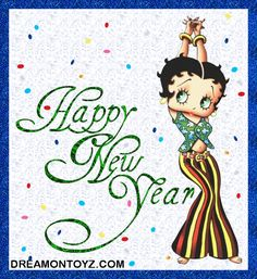 Betty Boop Pictures Archive: New Year