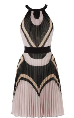 Deco print dress