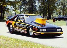 Ronnie Sox  1981 Nhra Pro Stock, Mustang Cars, Ford Mustangs, Fox Body Mustang, Nhra Drag Racing, Hot Rod Trucks, Drag Cars, Vintage Cars, Cool Cars