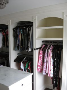 Custom Built-In Closets