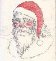 Kind-hearted Santa ho ho ho
