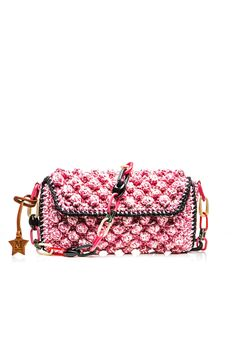 #MMissoni | Pink Raffia Bag | #Summer2016