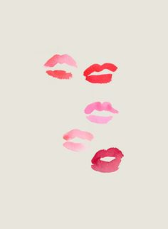 What color are your kisses?