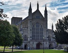 Winchester Cathedral, Winchester (England)  Can't wait to see this in person in the fall! :)