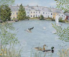 Вдали от города: душевная атмосфера сельской местности в картинах художницы Lucy Grossmith - Ярмарка Мастеров - ручная работа, handmade
