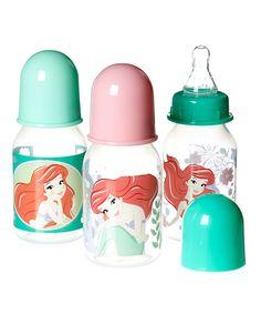 Disney Princess Ariel 5-Oz. Bottle - Set of Three by Disney Baby #zulily #zulilyfinds