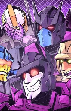 Transformers One-Shots (Closed) by Lucy Lu