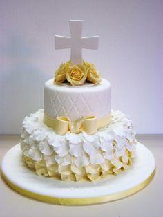 Religious Cake - First Communion Christening Cake Boy, Baptism Cakes, Bible Cake, Religious Cakes, First Communion Cakes, Confirmation Cakes, Occasion Cakes, Fancy Cakes, Creative Cakes