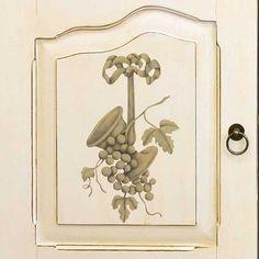 Furniture Stencils | Fruit of the Vine Trophy | Royal Design Studio