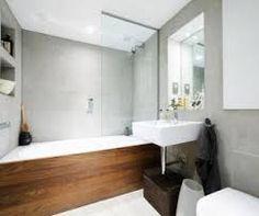 bathrooms wood grey - Google Search